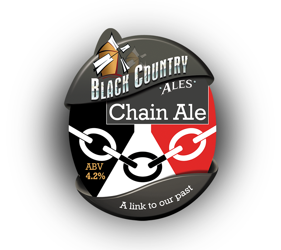 chainale pump clip black country ales