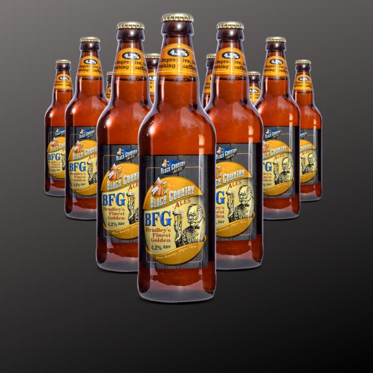 BFG - Bradley's Finest Golden (12 Bottle Pack)