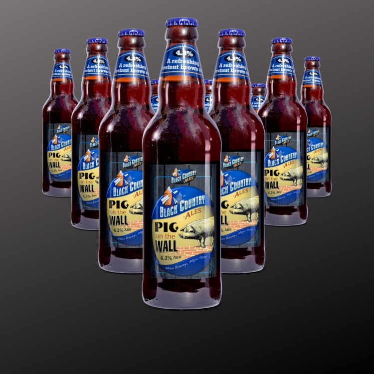 Pig on the Wall (12 Bottle Pack)