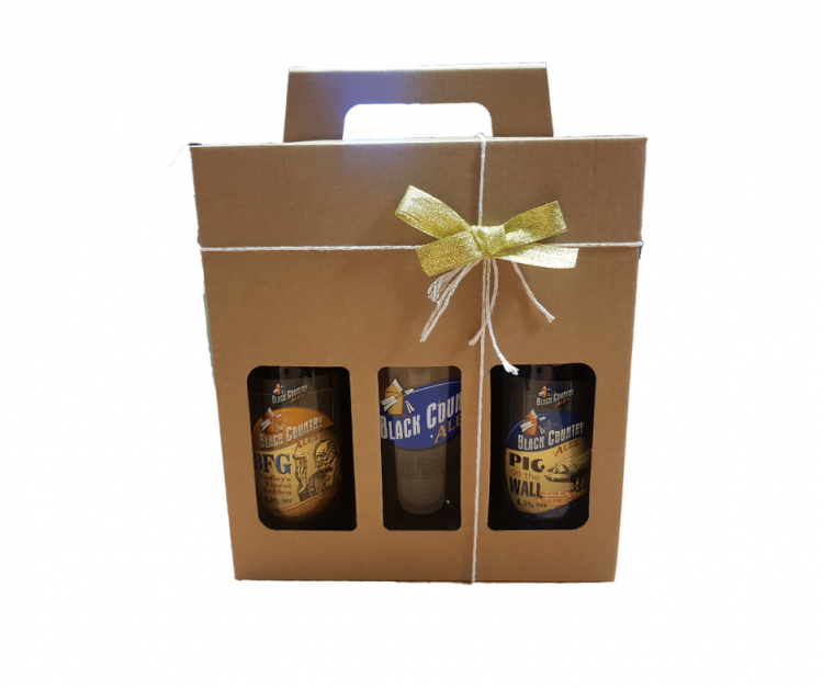 Two Bottle & Glass Gift Pack