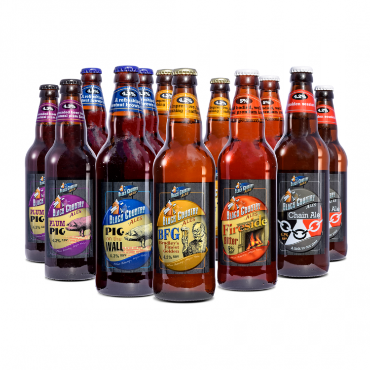 Black Country Ales Mixed Selection (12 Bottle Pack)